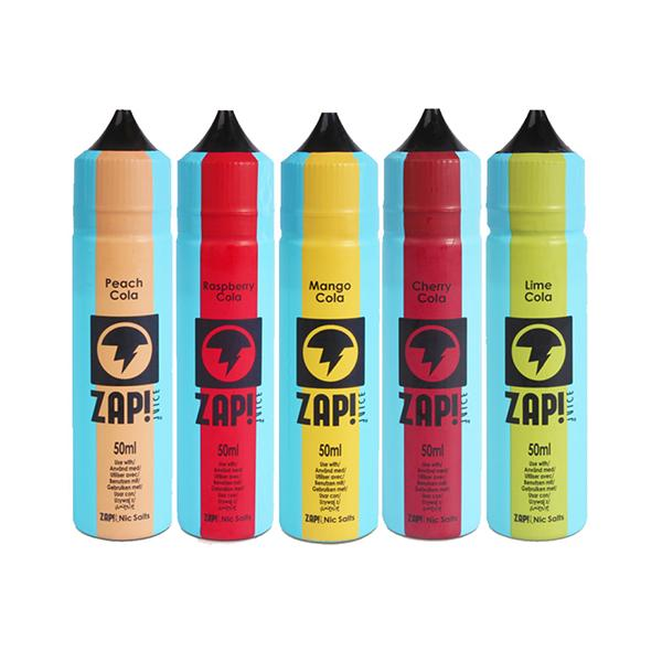 Zap! Juice Vintage Cola 0mg 50ml Shortfill (70VG/30PG)