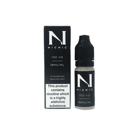 NIC NIC 18mg Nicotine Shot (100VG) 10ml Shortfill E-Liquid