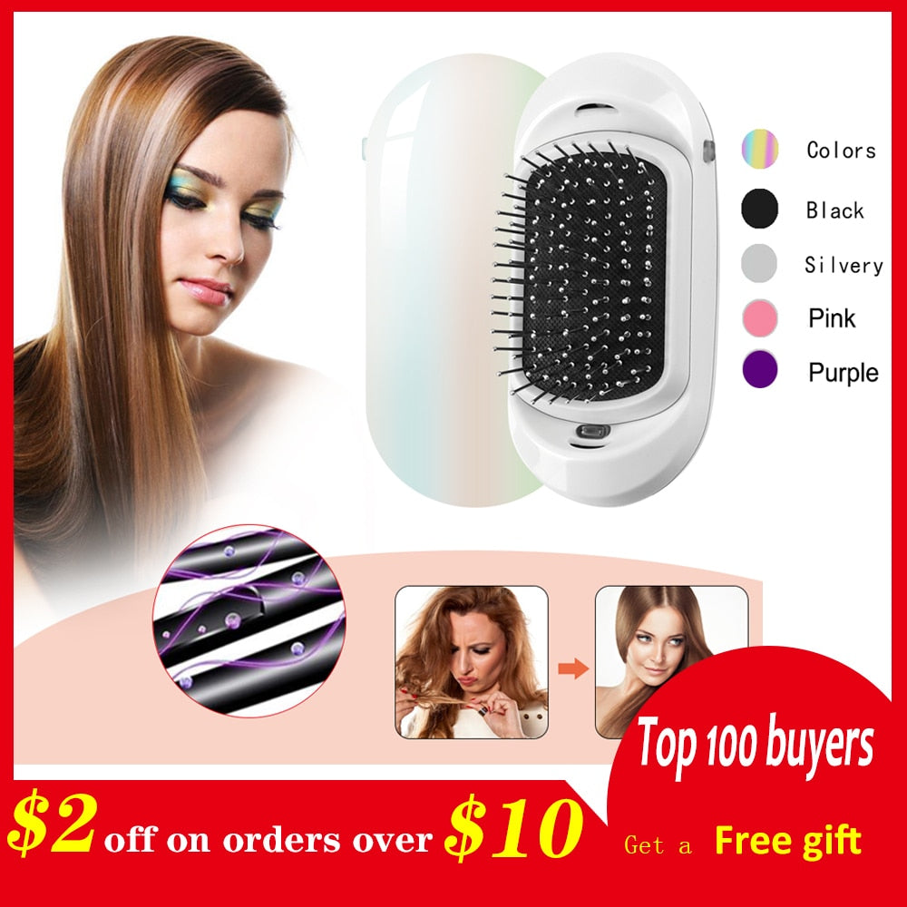 Electric Ionic Hair Strengthening Comb