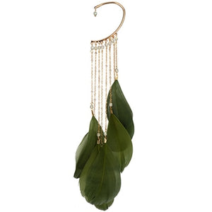 Long Tassels Ear Cuff Earring