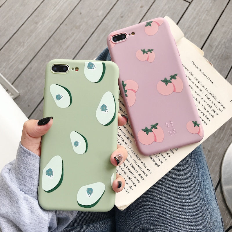 Soft I-Phone Heart Cut Covers