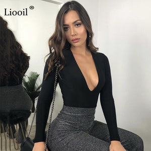 Sexy Plain Solid Color Tight Body/Jumpsuit