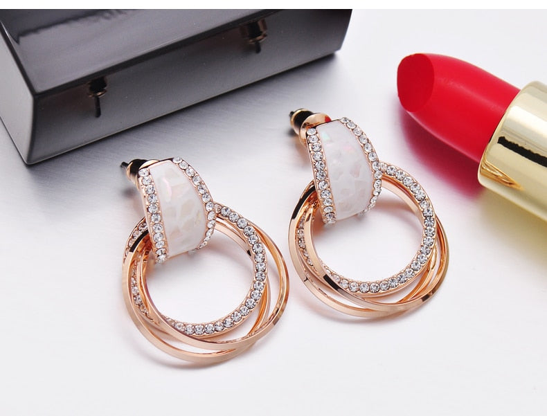 Hipster Pendant Earrings