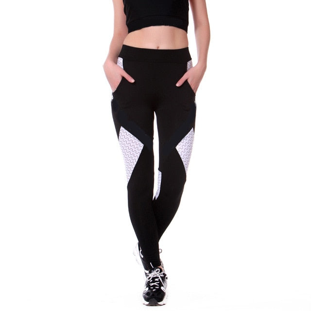 Yoga Pants With Pocket Skin Tight Leggings