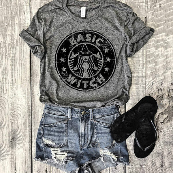 Casual Round Neck Being Women T-Shirt