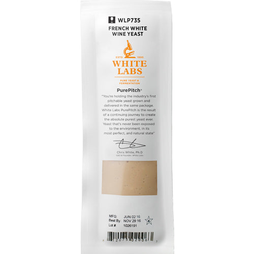 WLP735 | French White Wine Yeast