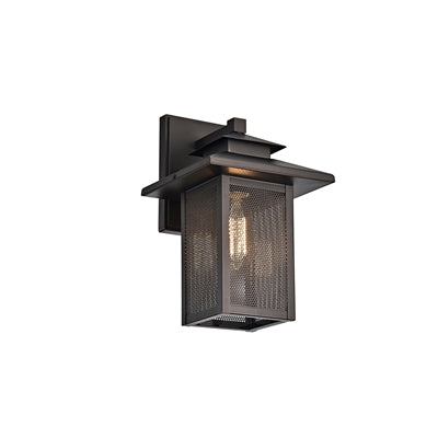 CH2S201RB13-OD1 IRONCLAD  1 Light Rubbed Bronze Outdoor Wall Sconce 13