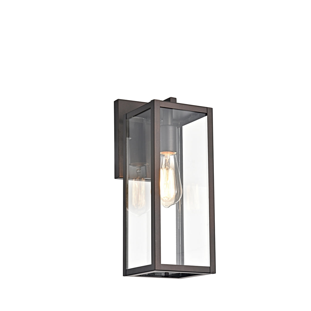 RICHARD  Rubbed Bronze Outdoor Wall Sconce 14