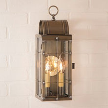 Load image into Gallery viewer, Queen Arch Outdoor Light in Brass - 2 Light - renaissance Lighting