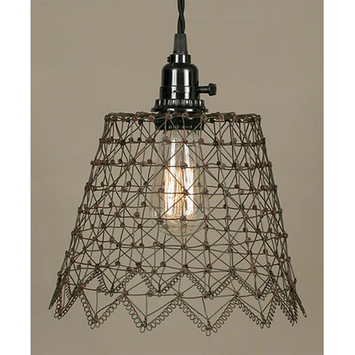 French Wire Pendant Lamp - renaissance Lighting