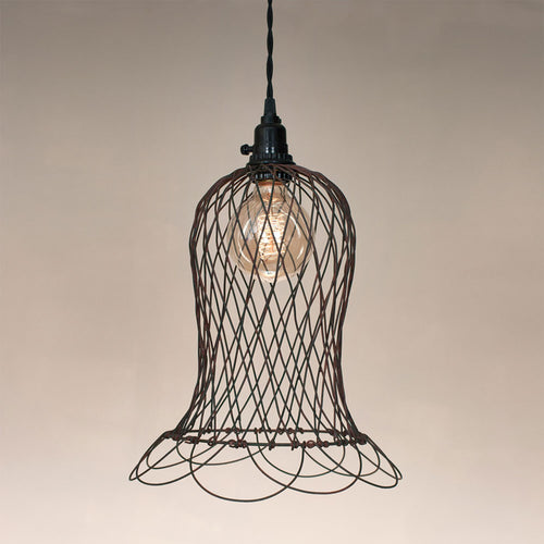 Wire Bell Pendant Lamp - renaissance Lighting