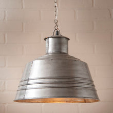 Load image into Gallery viewer, U: K18-54BU Canning Table Pendant Light in Brushed Tin ET - renaissance Lighting