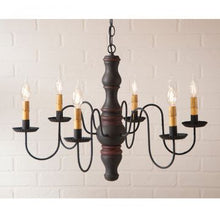 Load image into Gallery viewer, SKU: 9103H1 Gettysburg Wood Chandelier  - 6 Light, 9 Finishes - renaissance Lighting