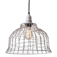 Load image into Gallery viewer, SKU: K14-47WZ Industrial Cage Pendant in Weathered Zinc ET - renaissance Lighting
