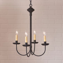 Load image into Gallery viewer, SKU: 9202BK Small Grandview Chandelier  - 4 Light - renaissance Lighting