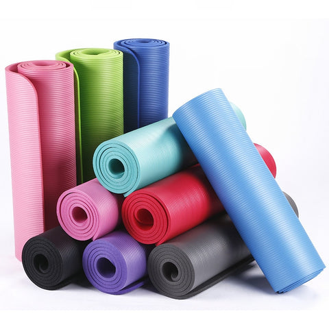 10mm Workout Yoga Mats - Burn The Fats
