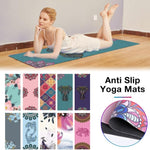 Beautiful Suede Yoga Mat - Burn The Fats