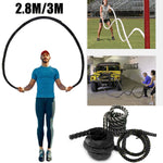 Heavy Battle Jump Rope - Burn The Fats