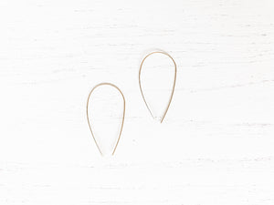 Brass Threader Earrings