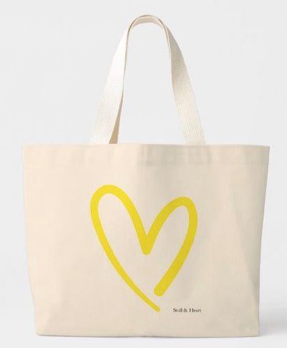Stoll & Heart Signature Heart Tote - Yellow