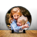 Personalised Photo Slates - Circle