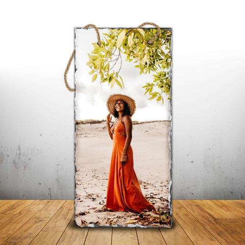 Personalised Photo Slates - Hanging