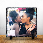 Personalised Photo Slates - 15x15cm - Square