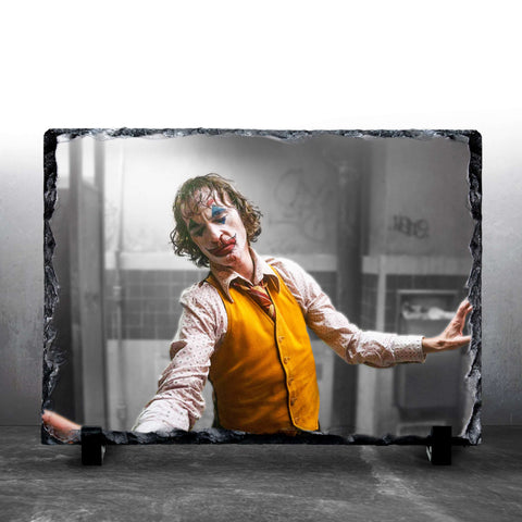 JOKER - Bathroom Dance - Custom Photo Slate