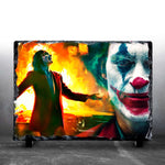 JOKER - Up In Flames - Custom Photo Slate