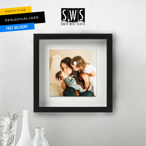 Personalised Photo Tiles - Framed Square