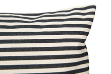 Load image into Gallery viewer, Black Striped Pillow