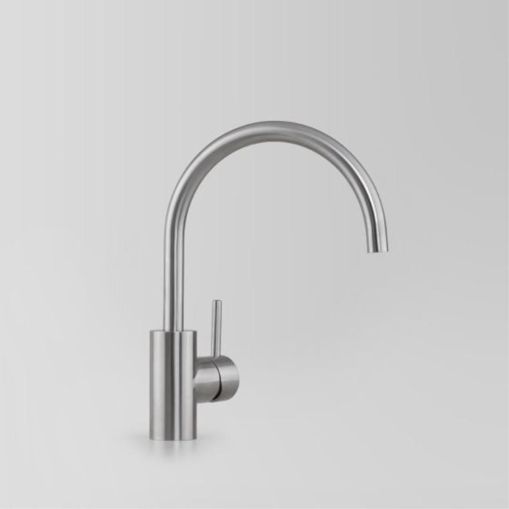 Astra Walker Icon Gooseneck Sink Mixer - 316 Stainless Steel