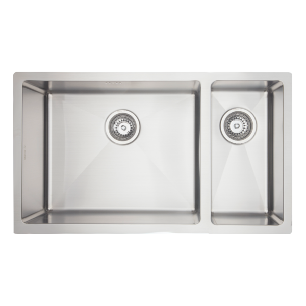 Mercer DV208-R Sink - Worcester 500 x 400mm + 200 x 400mm