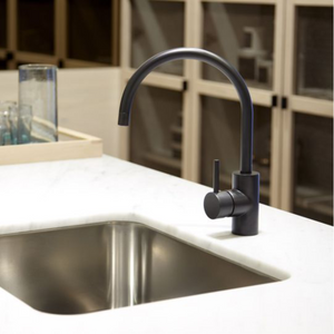 Astra Walker Icon Gooseneck Sink Mixer with Swivel Spout