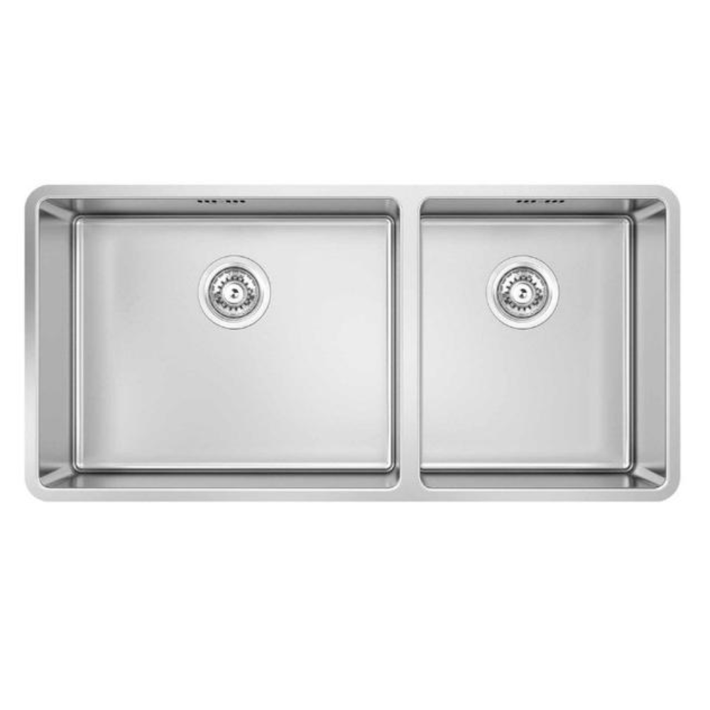 Burns & Ferrall Designer R15 Sink - 500 x 400mm + 340 x 400mm