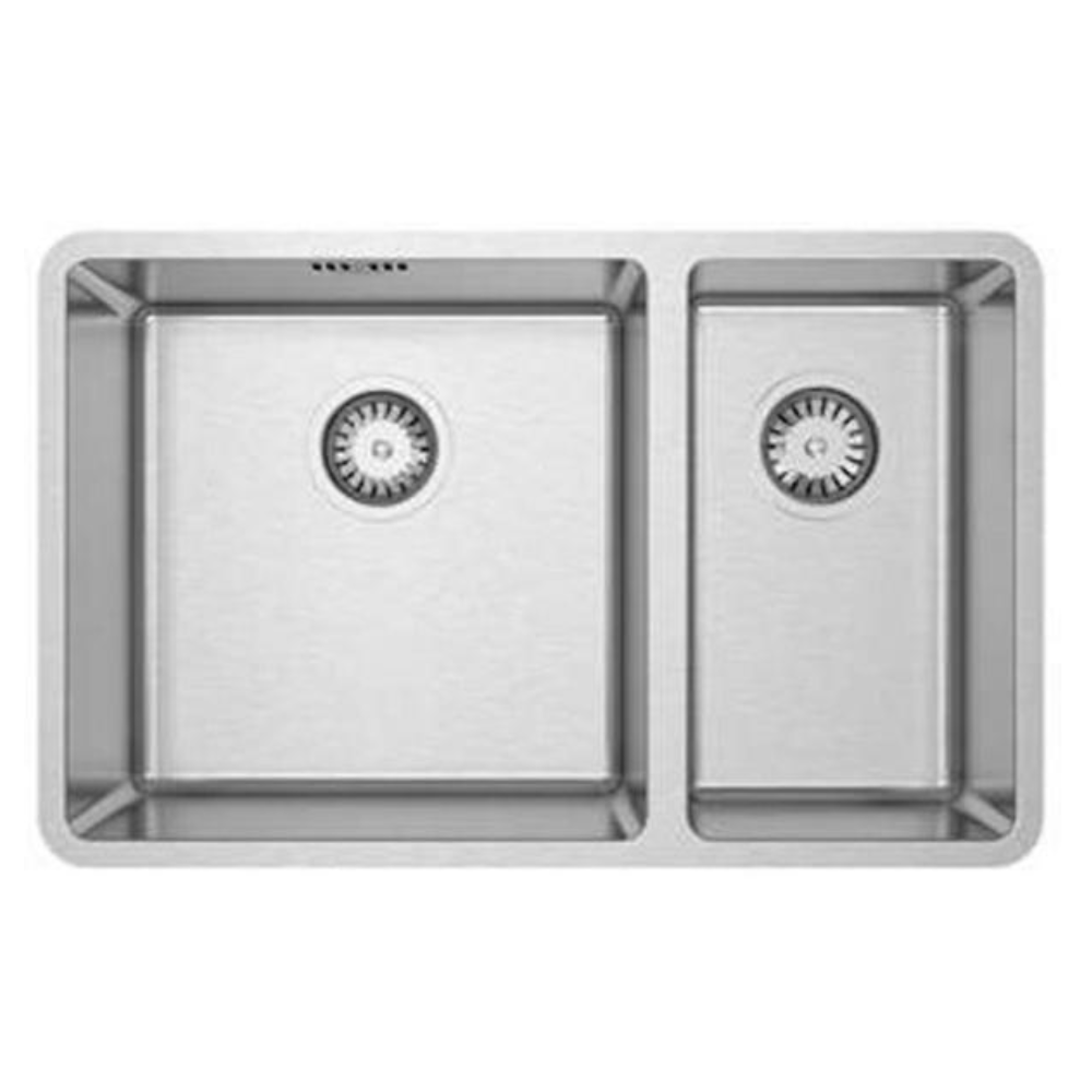 Burns & Ferrall Designer R15 Sink - 400 x 400mm + 225 x 400mm
