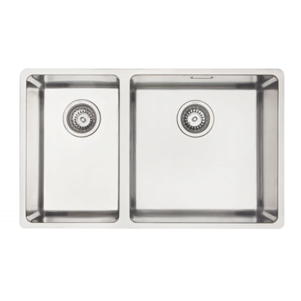 Mercer DC202-L Sink - 250 x 400mm + 400 x 400mm
