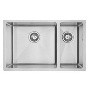 Mercer DV205-R Sink - Lincoln 450 x 400mm + 200 x 400mm