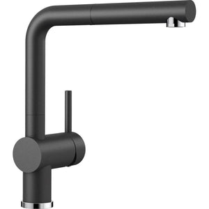 Blanco Linus S Kitchen Mixer with Pull Out Function - Black