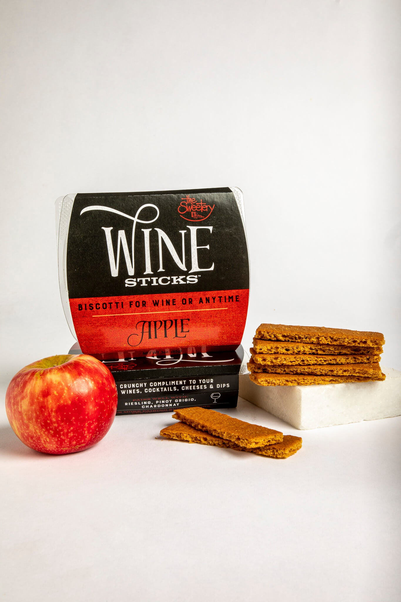 Apple Wine Sticks – 6 Boxes (3 oz ea)