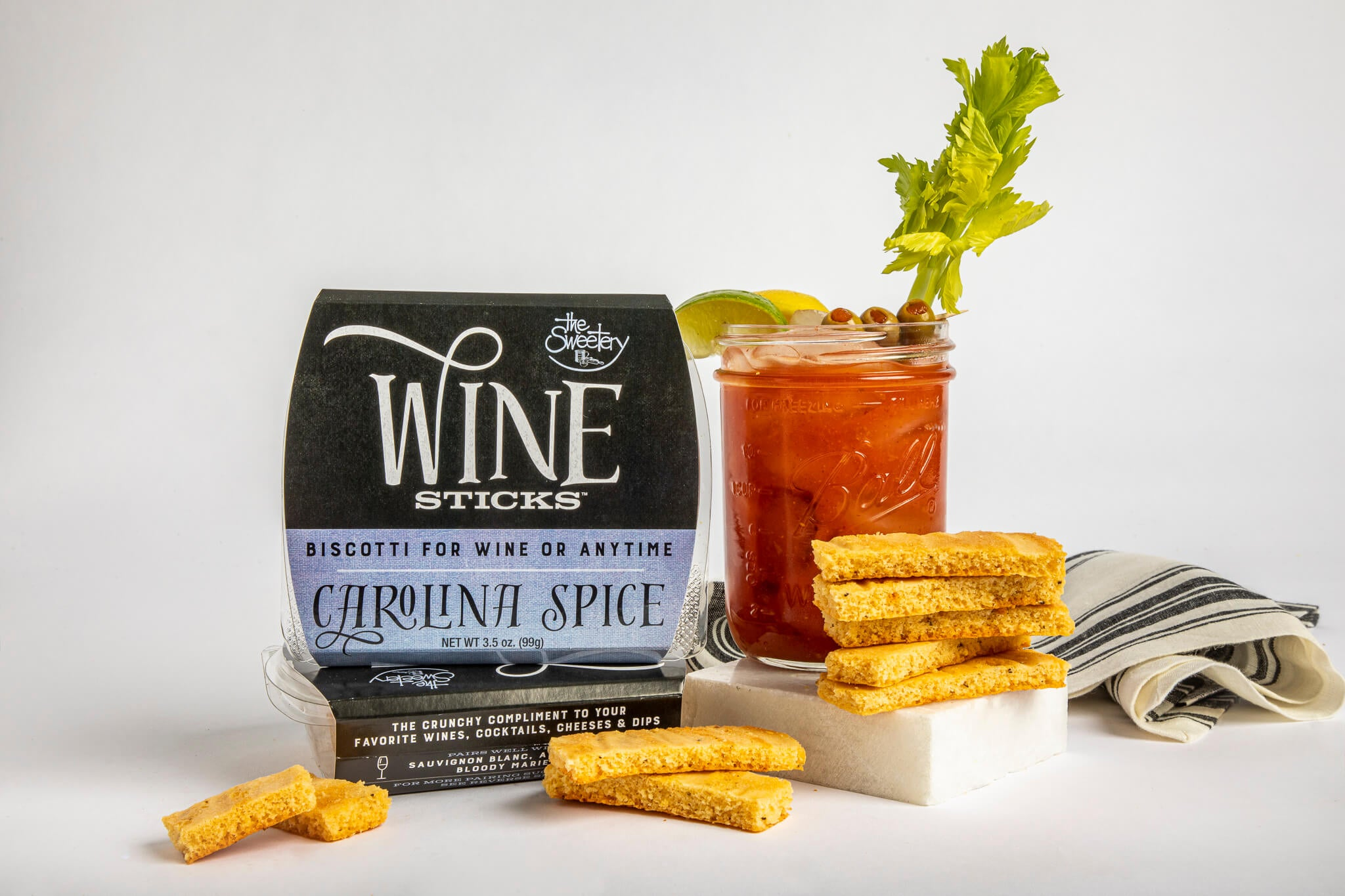 Carolina Spice Wine Sticks – 6 Boxes (3 oz ea)