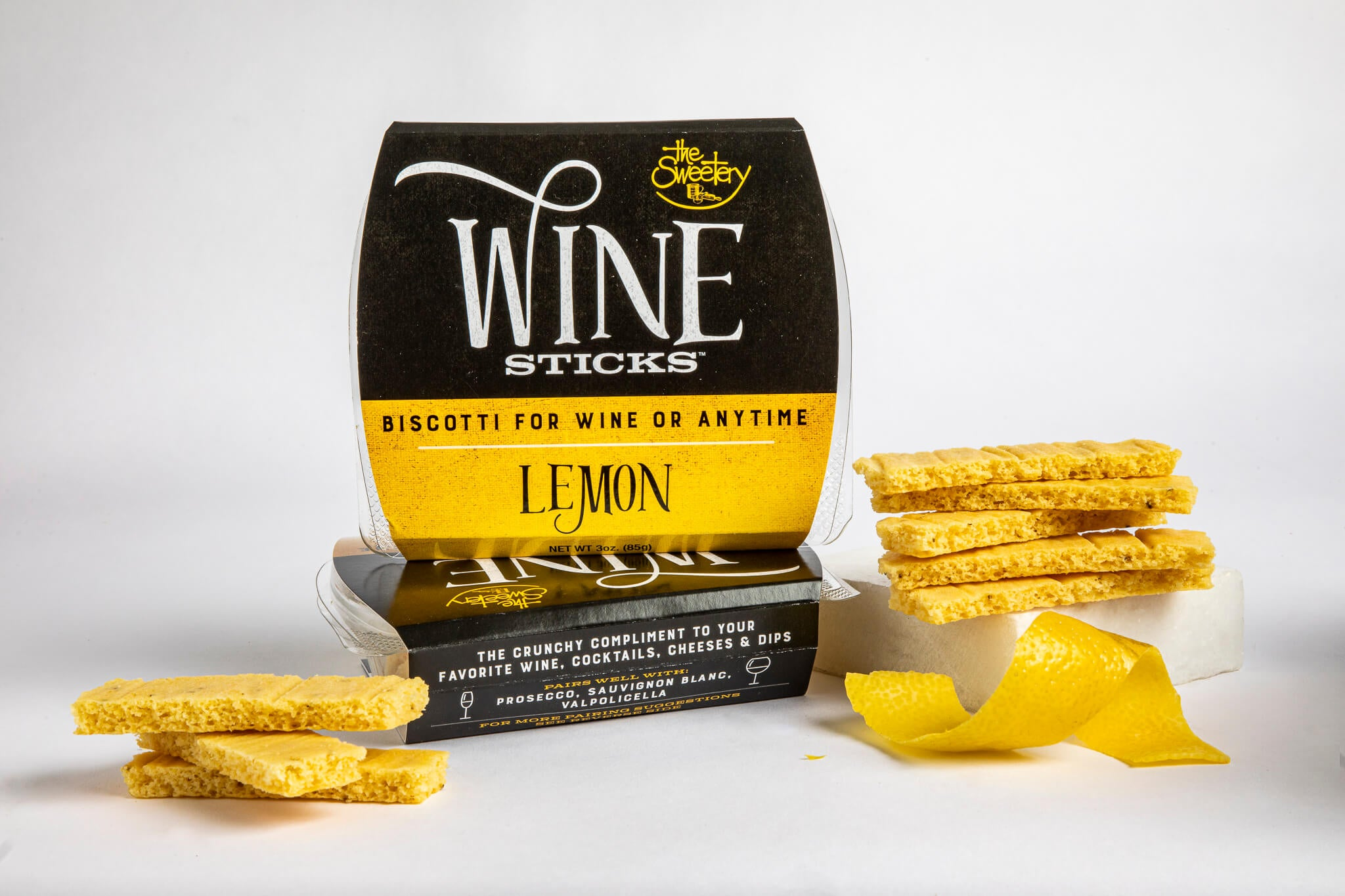 Lemon Wine Sticks – 6 Boxes (3 oz ea)