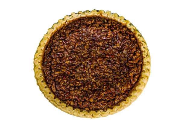 "Chocolate Pecan Pie  8"" Round"