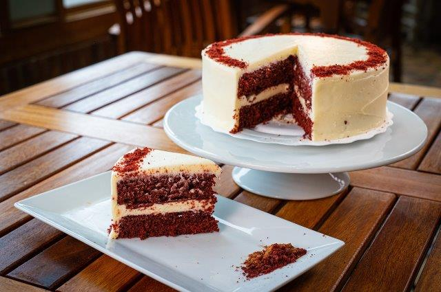 "Red Velvet Cake 2 - 8"" Layers"