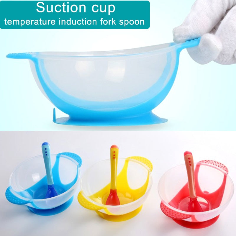 Unspillable Suction Bowl Set