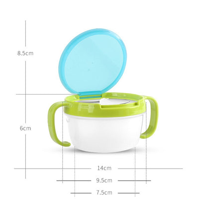 Spill-Free Baby Snack Container