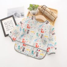 Load image into Gallery viewer, New Washable Printed Sleeved Bib