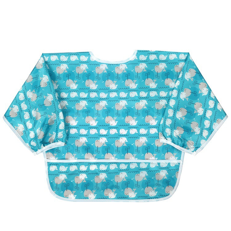 New Washable Printed Sleeved Bib
