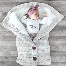 Load image into Gallery viewer, Newborn Baby Winter Warm Sleeping Bag
