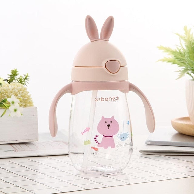 Cute Rabbit Baby Feeding Cup